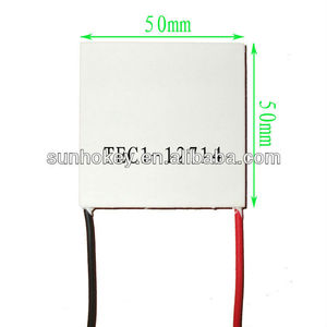 TEC1-12714 12V 14A 128W 50*50MM Heatsink Thermoelectric Cooler Cooling Peltier Plate Module