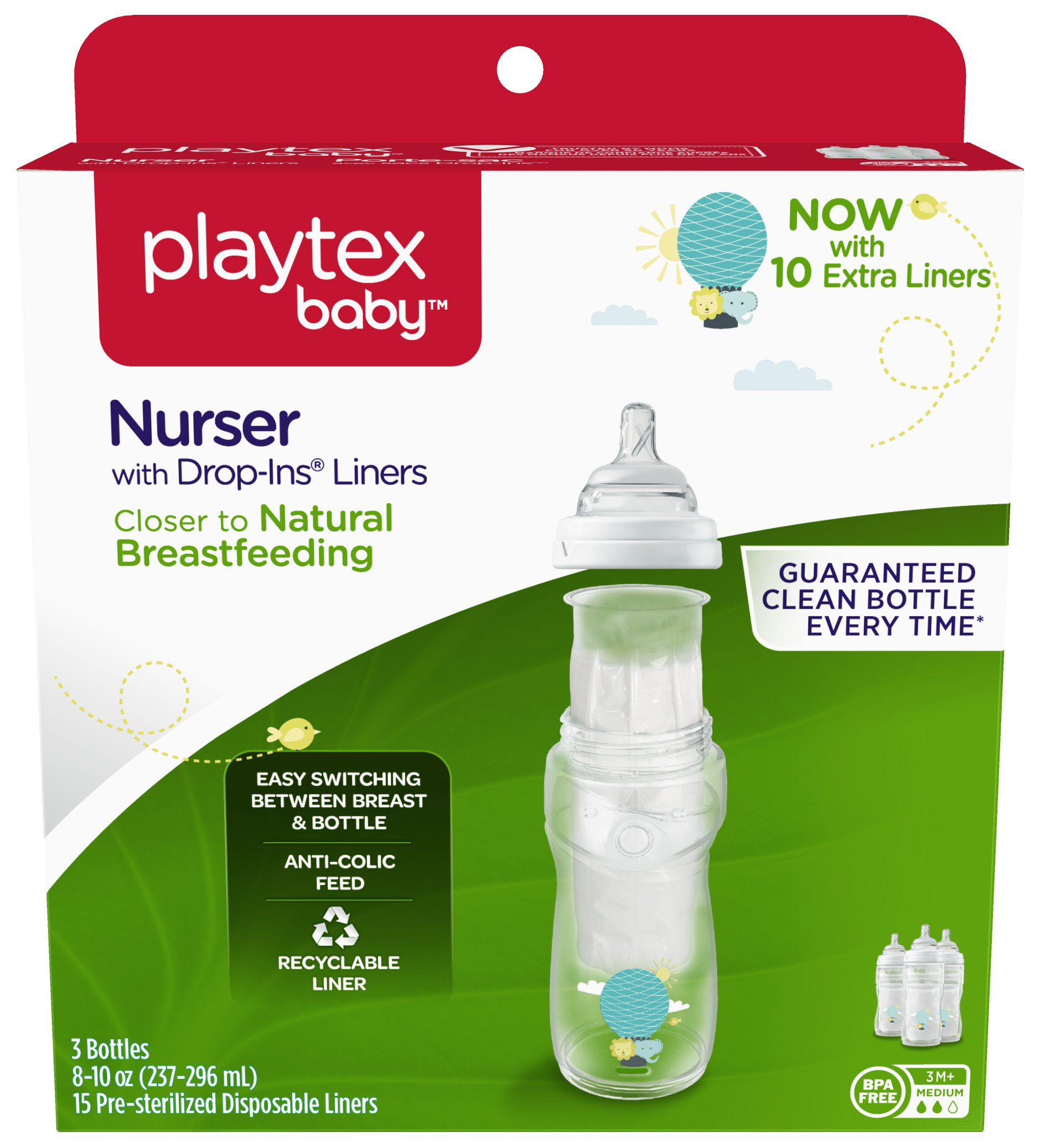 Baby Bottles Cheap Price Playtex 4oz Disposable Bottles Pre Sterilized 50 Bottles Per Box Lot Of 3 Boxes Bottle Feeding