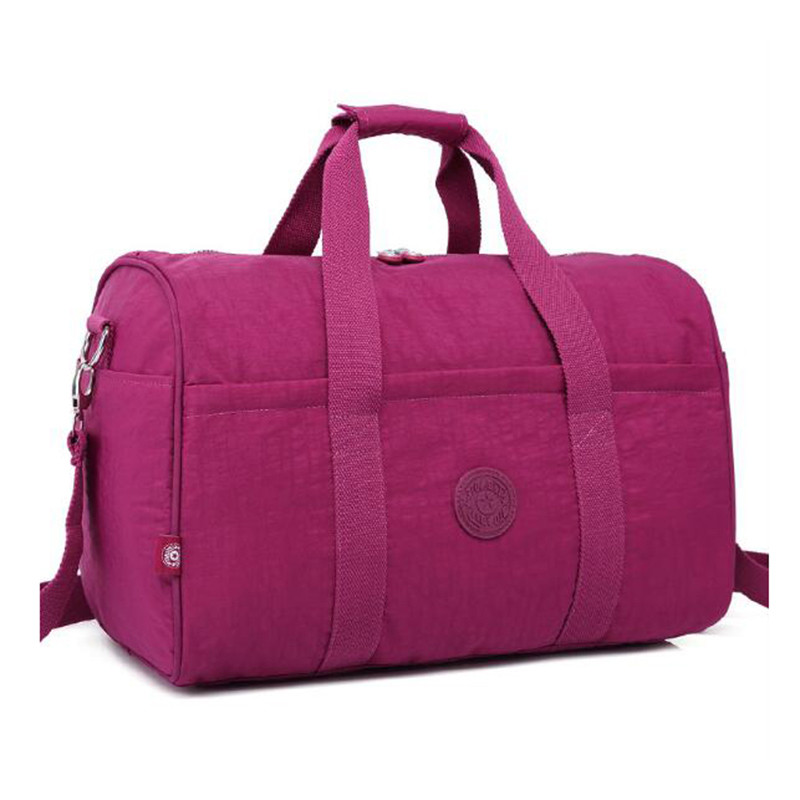 RY1263 lady waterproof nylon stylish weekend duffle