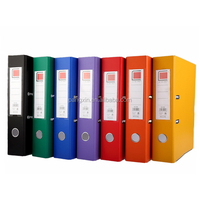 China Wholesale Office Stationery Custom Design File Folder, Lever Arch File pp, Eco-friendly Paper Lever Arch File