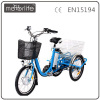 MOTORLIFE/OEM brand EN15194 36v 20inch 3 wheel electric bicycle, s-pedelec