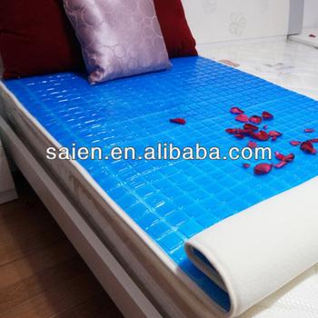 hot season sleep well cooling gel pad for latex mattress topper