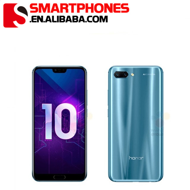 Global Version Honor 10 Android 8.1 4G LTE Smartphone 3D Curved Glass Kirin 970 AI Processor 5.8 Inch 2280x1080 24MP фото