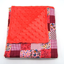 High Quality Europe Fashion Personalized Soft Polyester Patchwork Blanket