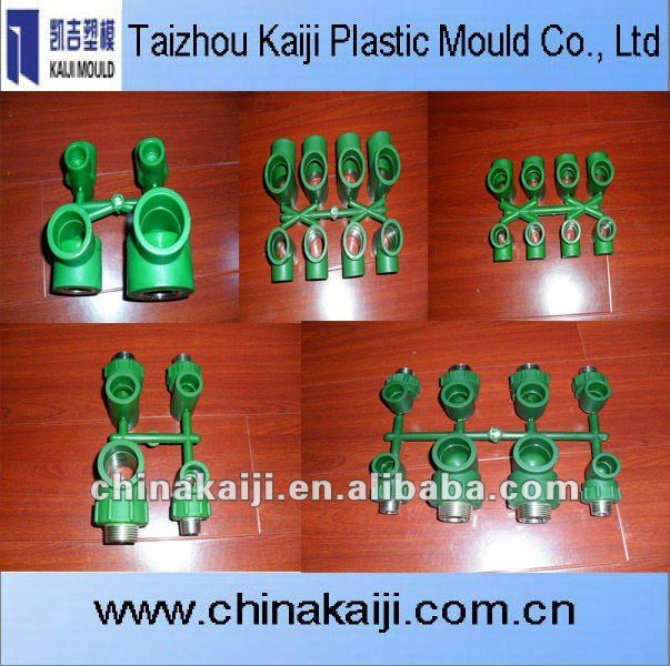 make 8 Tee pipe fitting moulds