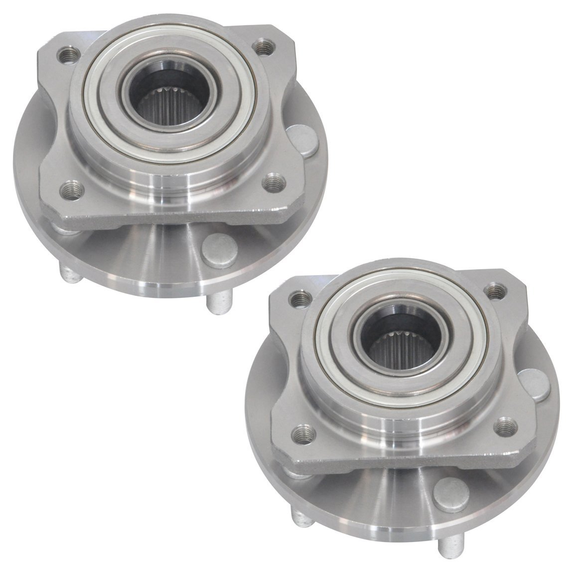 DRIVESTAR 513123X2 (Pair) New Front Wheel Hub Assembly for Dodge Chrysler Caravan Town & Country