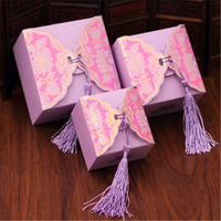 Assorted print Gift boxes Packaging wedding favor Jewelry paper box packaging