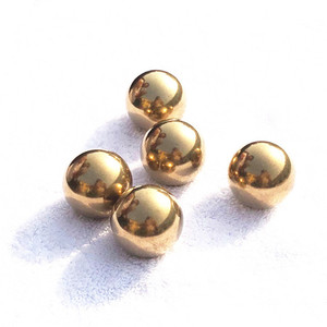 China factory brass ball 10mm solid round brass ball bearings
