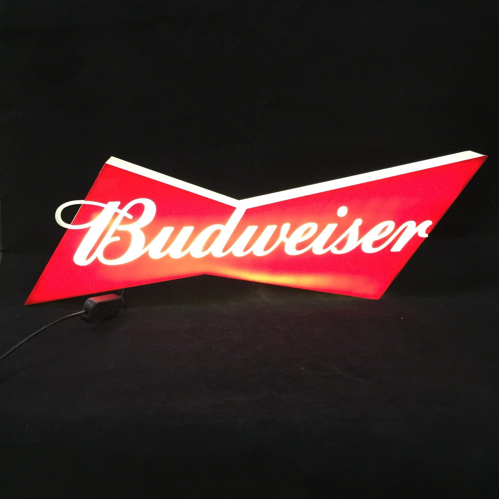 Budweiser Led Bar Wall Signs - Buy Budweiser Neon Beer