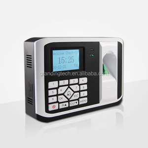 Standalone and network biometric fingerprint scanner door access control system