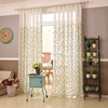 sheer curtain drapery valances fabric with pattern