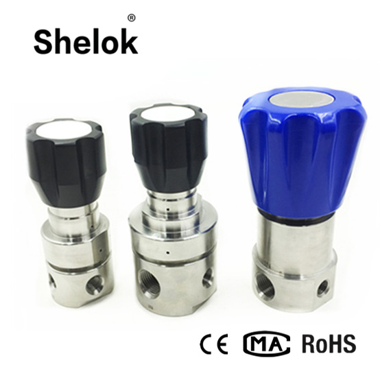 Stainless Steel Adjustable Air Pressure Relief Valve, Back Pressure Regulator, Pressure Reducing Valves