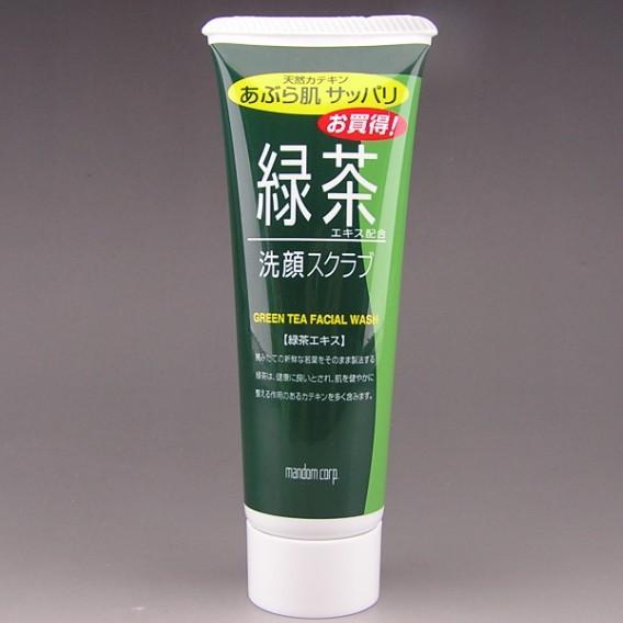 Please the Green tea facial cleanser