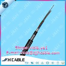 48 core fiber optic cable Outdoor loose tube stranded armoured optic fiber cable GYTA53