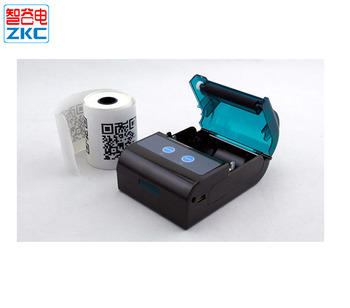 Handheld Android Qr Code Bluetooth Thermal Printer Zkc5805 - Buy Thermal  Printer,Bluetooth Thermal Printer,Qrcode Bluetooth Printer Product on
