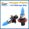 H13 9008 White 60/55W Xenon Halogen 7500K Headlight Light Bulb High/Lo Beam