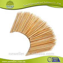 2014 Nature flower support bamboo skewer sticks bbq paddle picks hors d'oeuvre picks paddle skewer