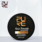High Shine Strong Hold Hair Styling All Natural Professional Hair Products Private Label