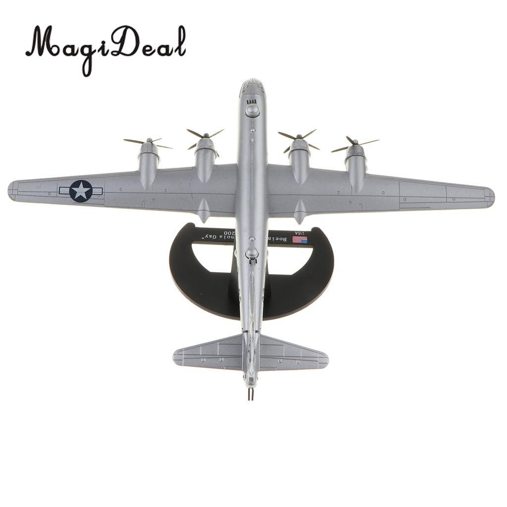 1/200 Diecast WWII US Boe ing B-29 Enola Gay Aircraft - Superfortress  Bomber Warplane Model Airplane Toy Collectibles Home Decor