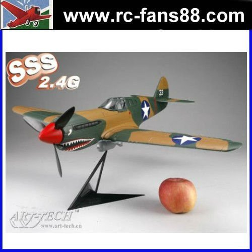 P-40 Warhawk rc jet airplane the 2.4G ETB42 BII Radio RTF
