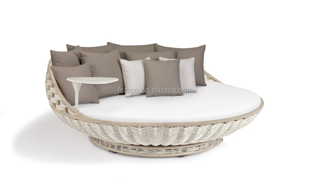 rattan hanging bed