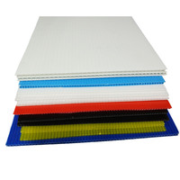 polypropylene material pp corflute roofing sheet