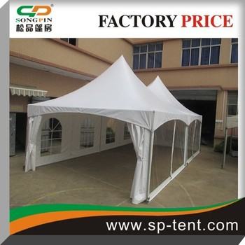 Guangzhou Manufacture Tent Structures Outdoor Uv Protection Cabana Double Tension For Hotel