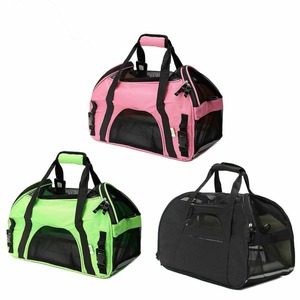Pet carrier backpack Airline Approved For Cats Dogs Soft Sided Cat Dog Travel Bag