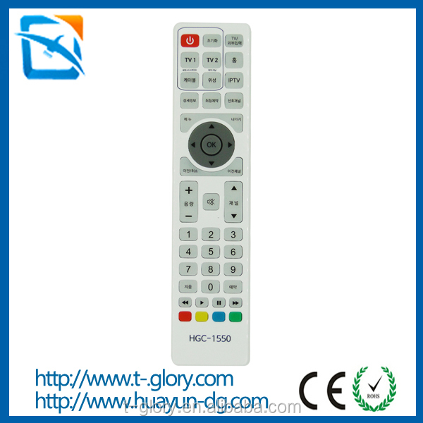 Smart led tv remote control used for star x led tv with CE ROHS