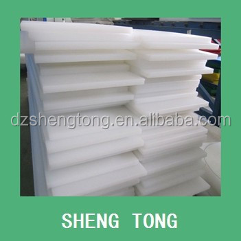 Pure white color Poly propylene plastic board
