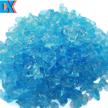 China Manufacturer Wholesale Blue Glass Sand