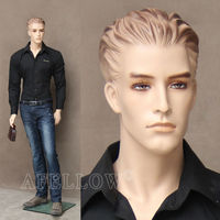 WEN3 Male full body mannequin with wig human cheap hair mannequin head