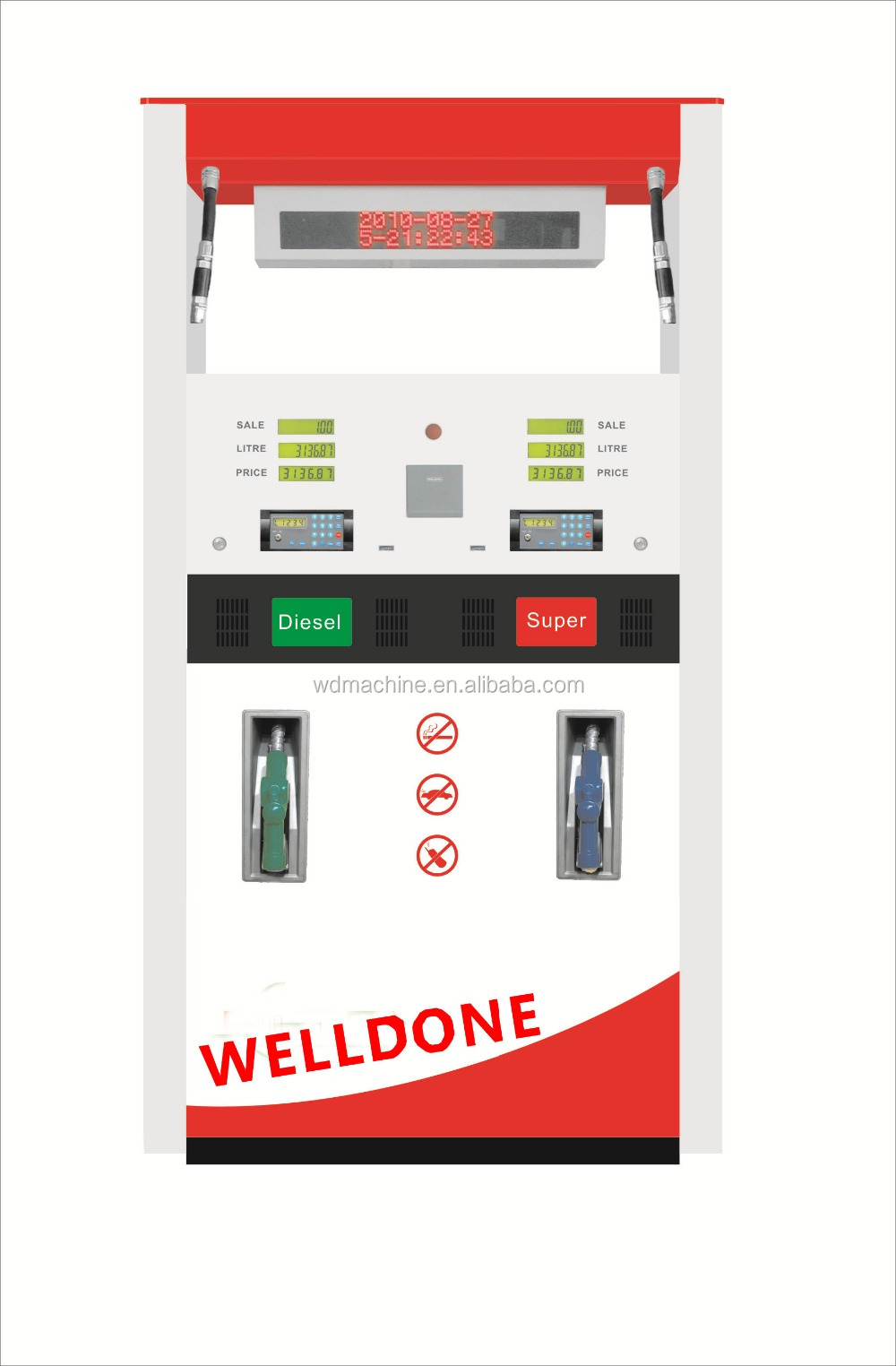 fuel dispenser for sales / gas station equipment / gas station fuel dispenser