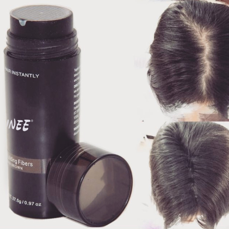 27.5g Factory price best quality anti bald natural keratin hair building fiber volume powder
