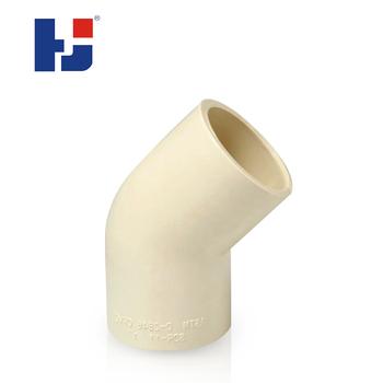 Mejor Precio Hj Cpvc Astm D2846 Sistema De Suministro De Agua Tubo 45 Grados Codos Buy Codo Precio 45 Grados Codo Cpvc Tuberia De Plastico Product