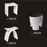 Kkr Bathtub Shower Stool,Modern Shower Stool,Artificial Stone ...
