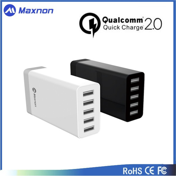 q.c.2.0 usb multi charger 5V 8A usb destop dock charger for cellphone