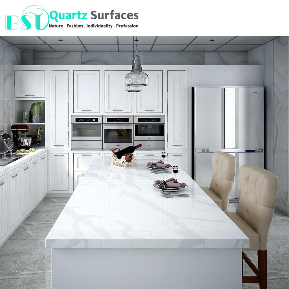 Statuario Quartz Stone Kitchen Dining Table Top Buy Quartz Table