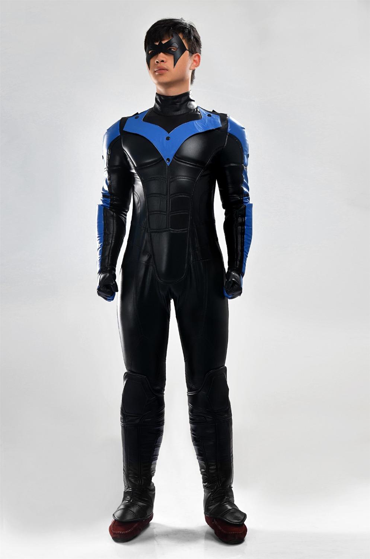 Hot DC Comics Nightwing Cosplay Costume Halloween ...