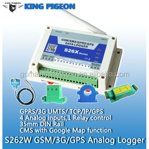 temperature logger wireless data logger datenlogger <strong>temperatur</strong> S262 with 4 channels analog input low price