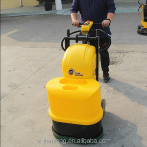 JS550 Double disc grinding machine concrete cement floor epoxy floor polishing machine
