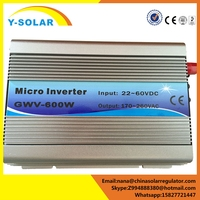 Y-SOLAR 600W 220V panel solar charger ongrid solar inverter for PV power generation systems