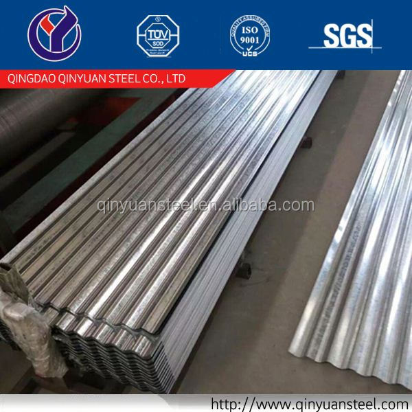 high quality corrugated galvanized steel sheet trading in China