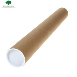 High quality paper cardboard round mail tube packaging for shipping tube
