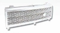 FRONT BUMPER GRILLE FOR RANGE ROVER L322 2003-2005 REPLACEMENT PARTS ALL CHROME
