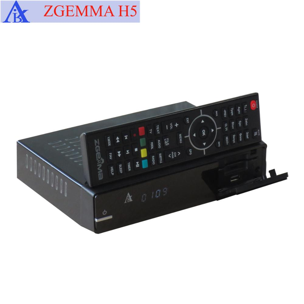 H.265/HEVC satellite finder dvb s2 + dvb t2/c zgemma h5