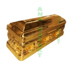 Made in China wholesale funeral supplies ANA American style metal Bronze coffin Casket