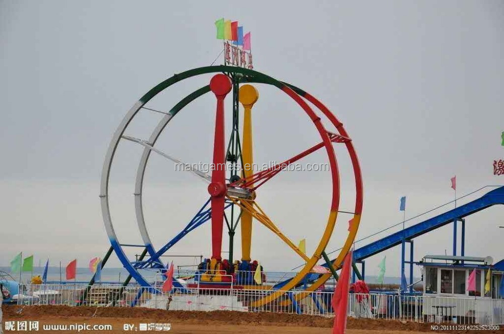 360 Degree Roller Coaster the Ferris Ring Car for sale