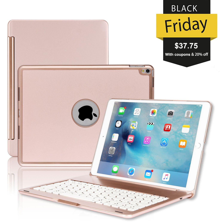 Buy ipad Pro 10 5 Keyboard Case, ONHI Wireless Bluetooth