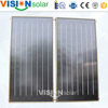 High quality black chrome flat solar heat panel price in China